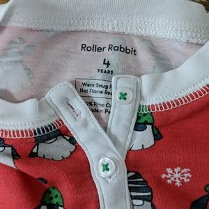 Roberta Roller Rabbit Pajamas - KIDS    Roller Rabbit    size 4
